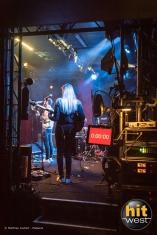 Les balances pour Broken Back, Backstage Live à Brest. © Matthieu Joubert